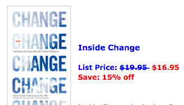 order Inside Change discount